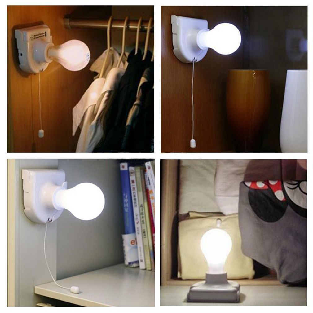 Ordinaire 10PC Stick Up Bulb Cordless Battery Operated Light Cabinet Closet Lamp Home  SG | EBay