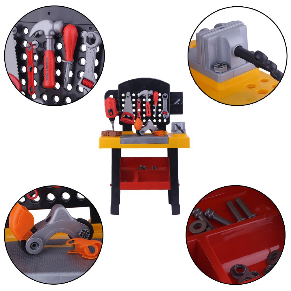 black decker werkbank bricolo center kinder spielzeug. Black Bedroom Furniture Sets. Home Design Ideas