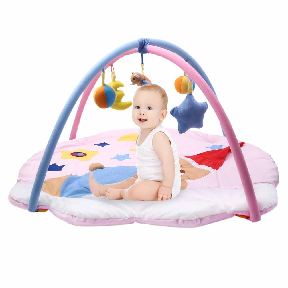 krabbeldecke spielbogen erlebnisdecke spieldecke baby 3d decke inkl spielzeug e ebay. Black Bedroom Furniture Sets. Home Design Ideas