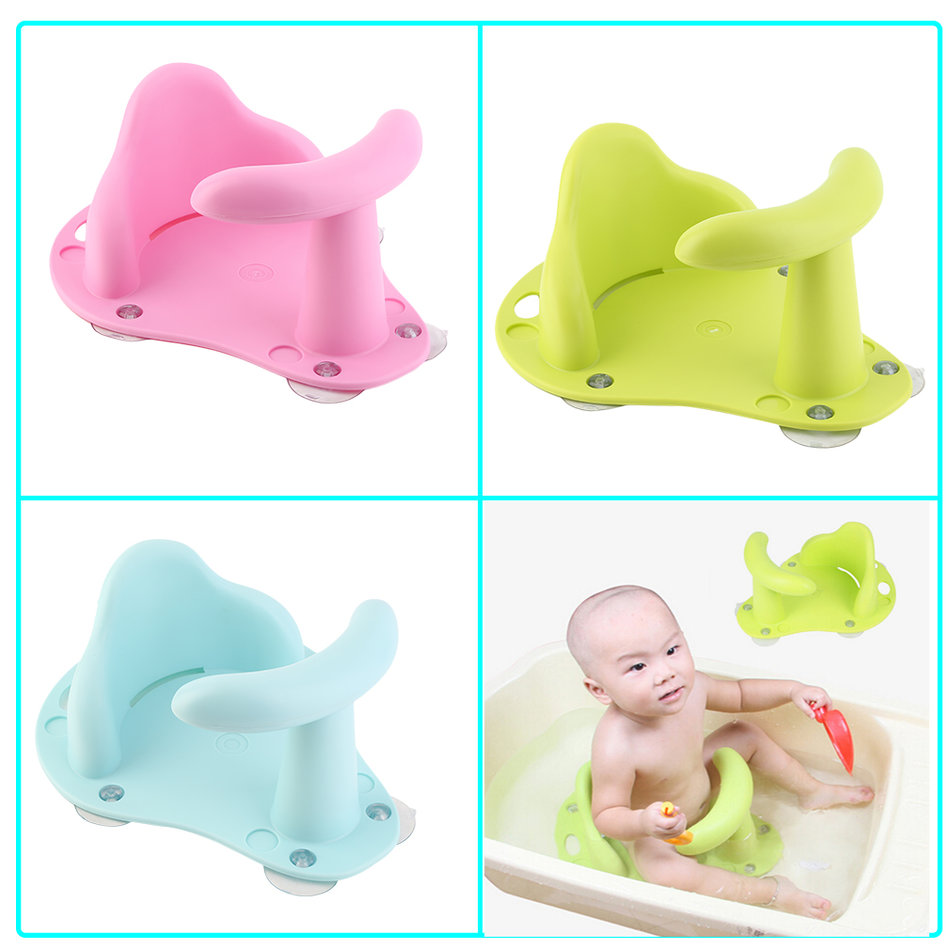 New Baby Bath Tub Ring Seat Infant Child Toddler Kids Anti Slip ...