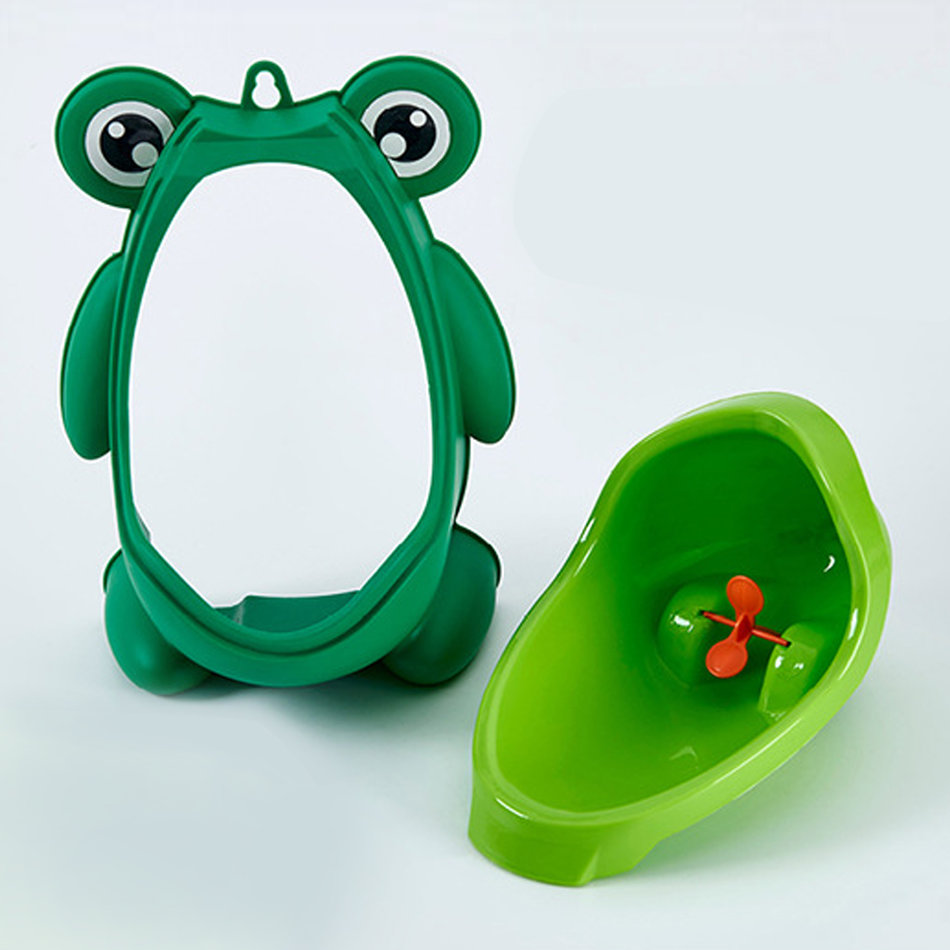 frog potty training toilet urinal portable for children baby