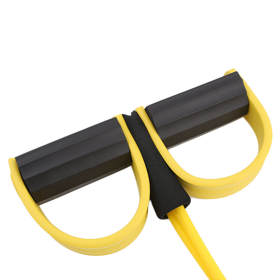 Exercise Stretch Bands Equipment: Resistance Band Rope Tube Elastic Exercise Equipment For
