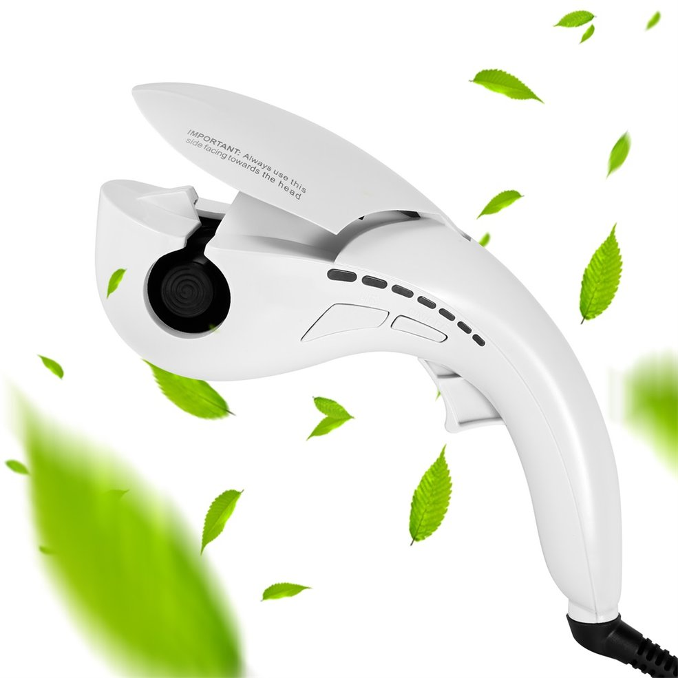 White Durable Magic Negative Ion Hair Rollers Automatic Bendy Hair Curlers  GN | eBay