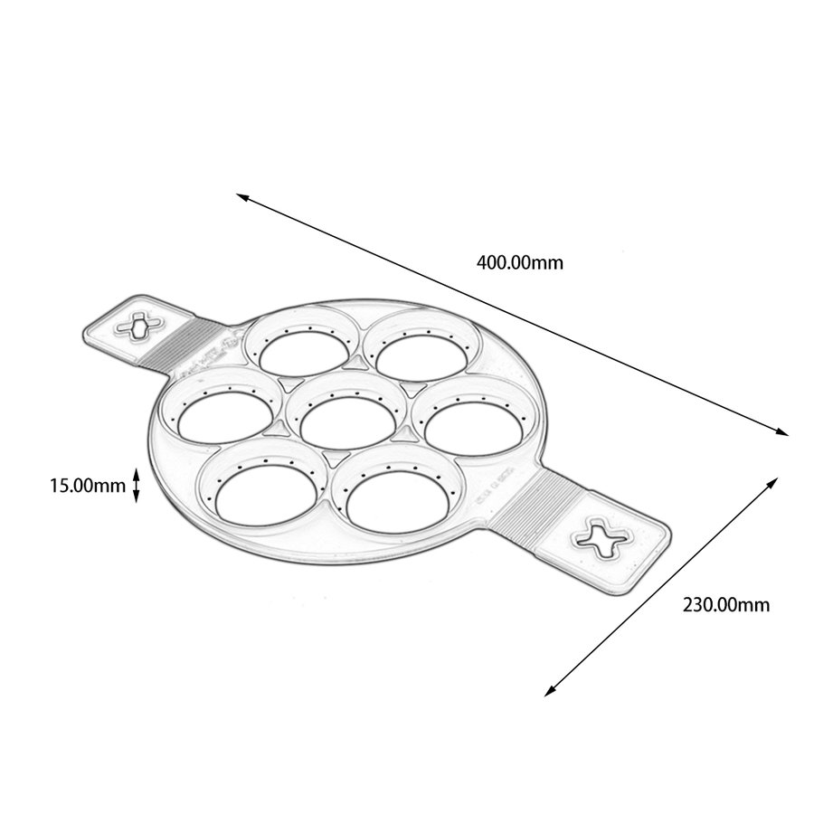 Silicon Egg Cooking Ring