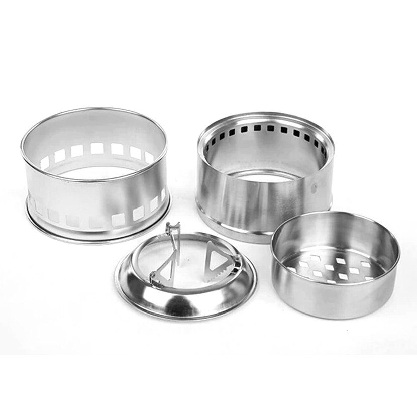 Outdoor picnic cooking camping portable stainless steel