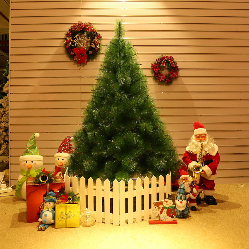 1.5m Artificial Dual Color Pine Tree 398 Branches ...