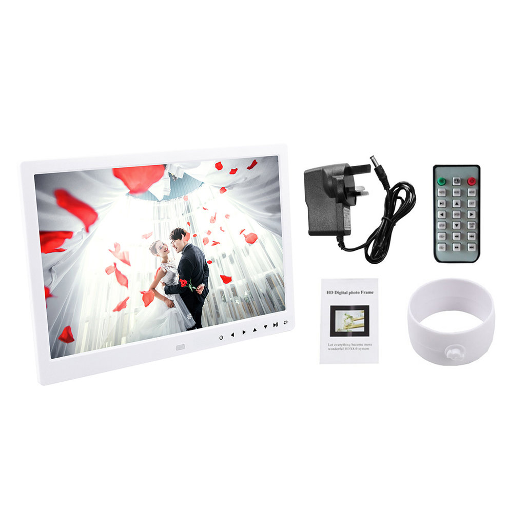 13 Inch 1280*800 HD Front Touch Digital Photo Frame Wide Screen ...