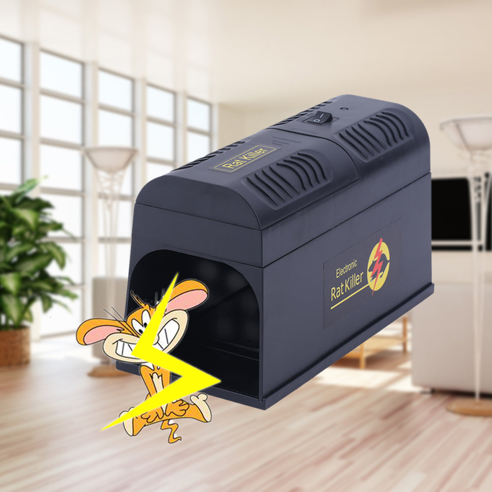 Electronic Mouse Trap Victor Control Rat Killer Pest Mice