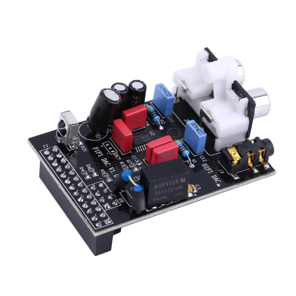 Details about Pratical Audio Sound Card Module I2S Interface for Raspberry  Pi HIFI DAC WN